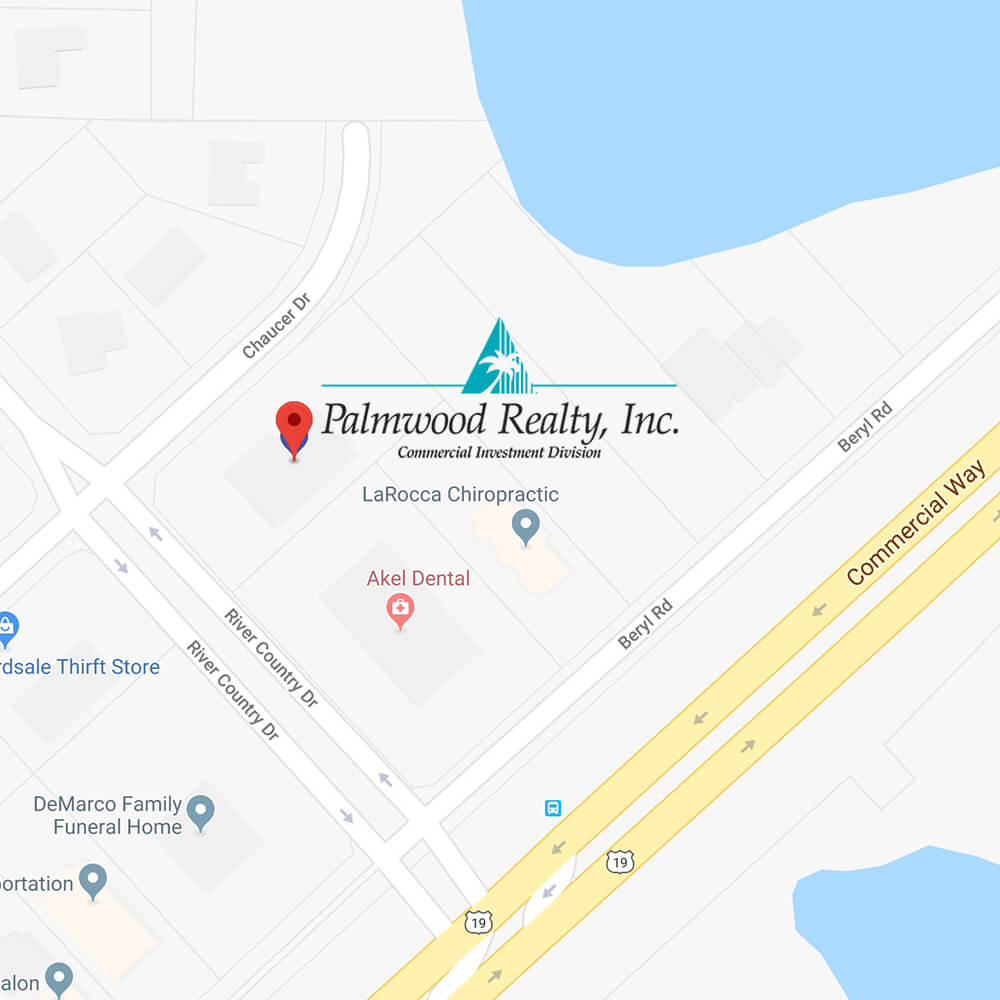 Palmwood Commercial Realty Map