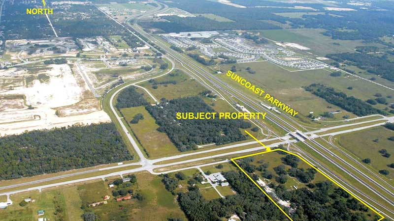 Pasco County 18 Acres Commercial Property For Sale